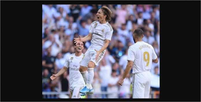 Hasil Real Madrid vs Granada 4-2 Balas Dendam Luka Modric