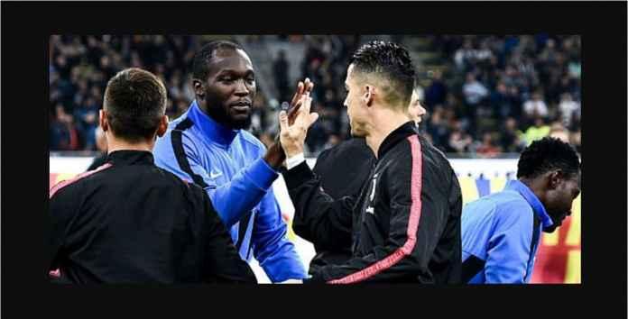 Lihat Raksasa Romelu Lukaku Terluka Oleh Tendangan Ronaldo