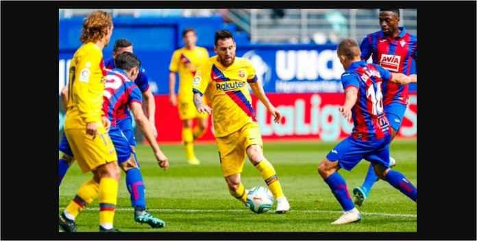 Messi Suarez Griezmann Klik Untuk Pertama Kalinya Bagi Barcelona