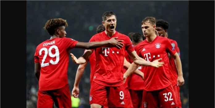 Hasil Augsburg vs Bayern Munchen 2-2 Lewandowski Gol ke-12!