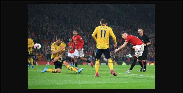 Hasil Manchester United vs Arsenal 1-1 Butuh 28 Menit Shot Pertama