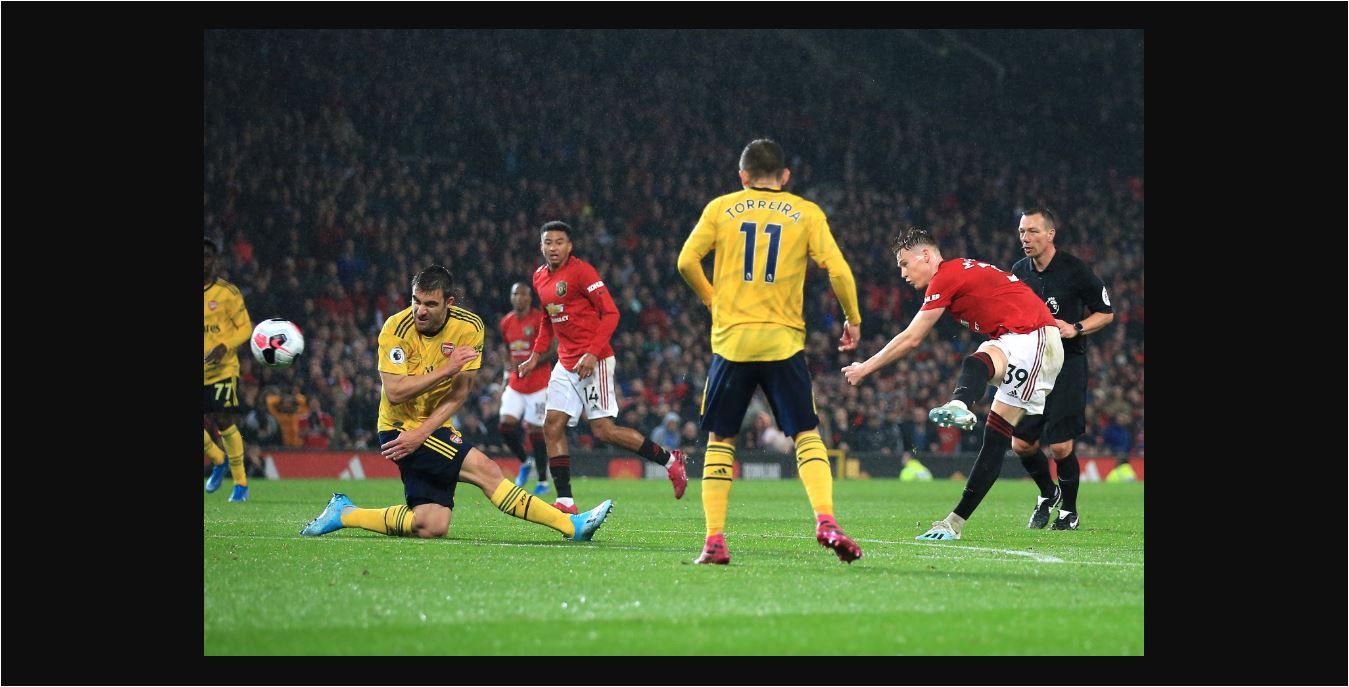Hasil Manchester United Vs Arsenal 1 1 Butuh 28 Menit Shot