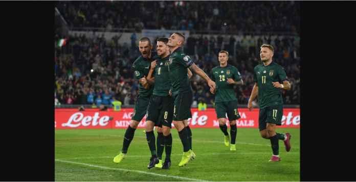Jorginho Tiga Gol Penalti Untuk Timnas Italia