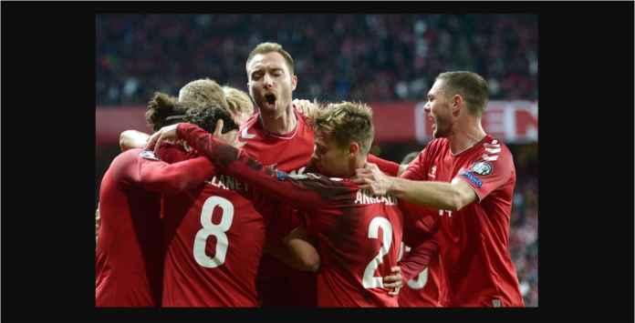 Enam Menit Jelang Usai, Denmark 1-0 Swiss Berkat Gelandang Leipzig