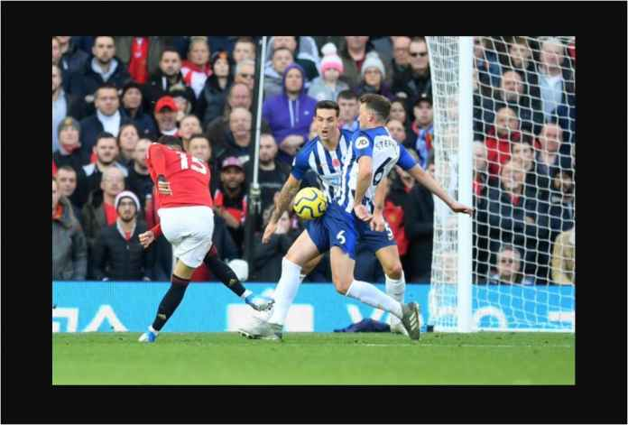 Manchester United 3-1 Brighton, Naik ke Urutan Tujuh!