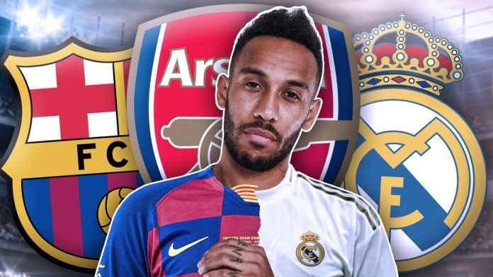 Aubameyang bisa pergi dari Arsenal ke Real Madrid atau Barcelona