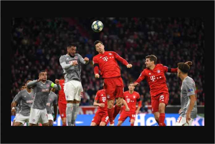 Hasil Bayern Munchen vs Olympiakos 2-0, Kemenangan Keempat