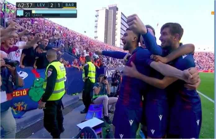 Hasil Levante vs Barcelona 3-1, Gol Pemain Real Madrid