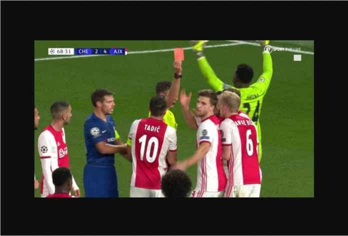 Hasil Chelsea vs Ajax 4-4 Laga Gila! Dua Kartu Merah! Dua Bunuh Diri!
