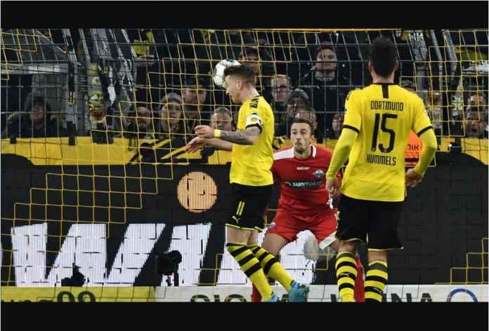 Borussia Dortmund Dipermalukan Tim Dasar Klasemen 3-3