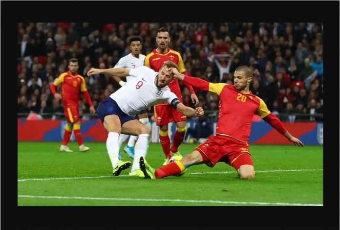 Inggris Pesta Gol Lawan Montenegro, Kane Top Skor 11 Gol