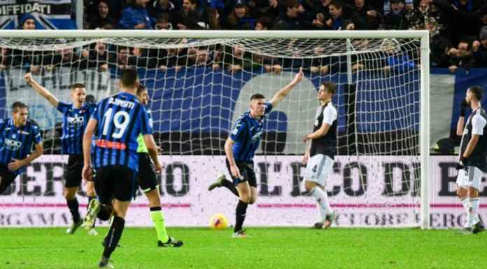Hasil Atalanta vs Juventus di Liga Italia pekan ke-13
