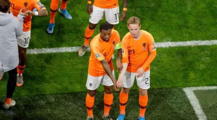 Hasil Belanda vs Estonia 5-0 di babak kualifikasi Piala Eropa 2020