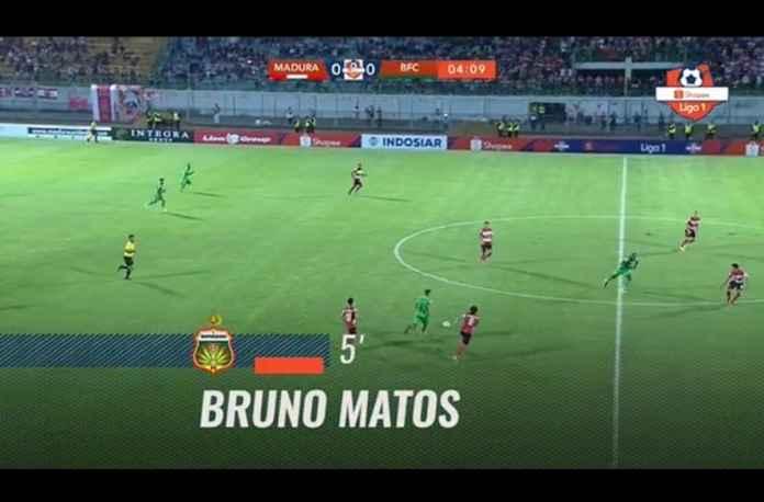 Bhayangkara FC Lanjutkan Catatan Positif, Kalahkan Madura United 1-2