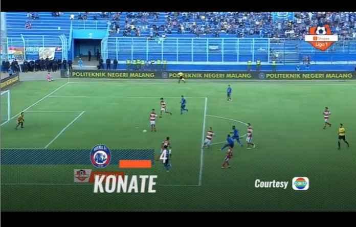 Hasil Arema FC vs Madura United 2-0, Gagal Dekati Posisi Teratas