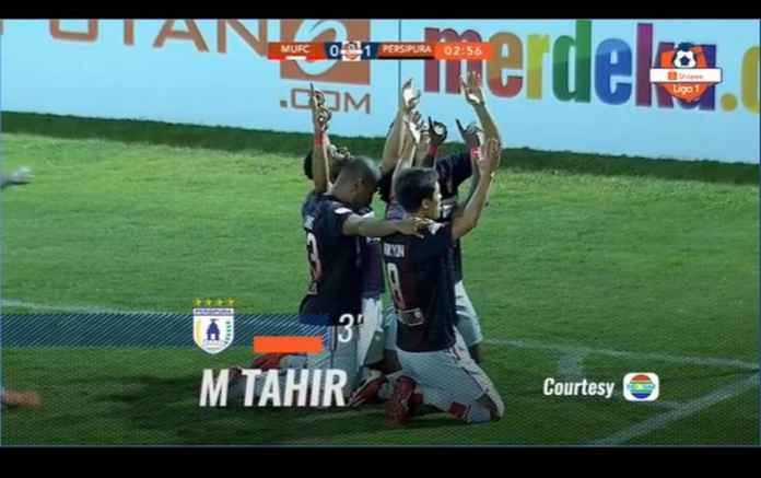 Hasil Madura United vs Persipura Jayapura 0-2, Tempel Terus Posisi Teratas