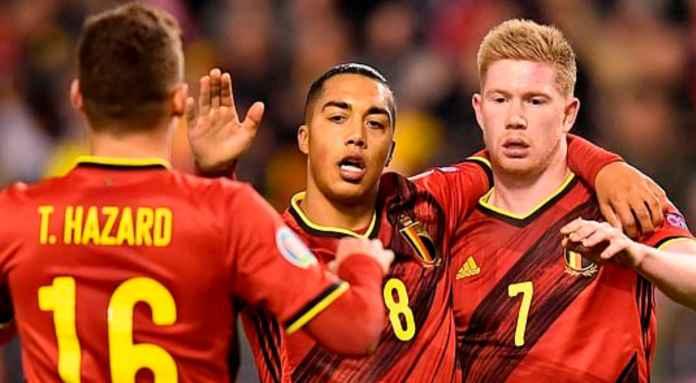 Hasil Piala Eropa 2020 - Belgia vs Siprus