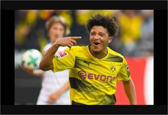 Jadon Sancho Kapok Main di Borussia Dortmund