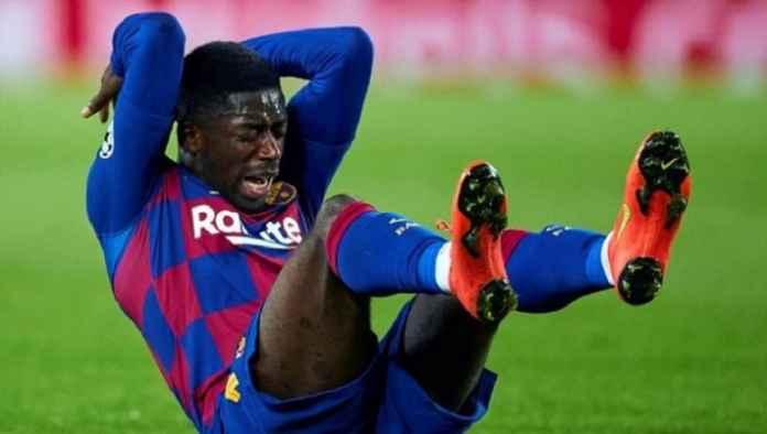Ousmane Dembele Menangis, Cedera Lagi Saat Barcelona Kalahkan Dortmund