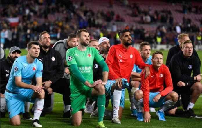 Barcelona Abaikan Para Pemain Slavia Praha