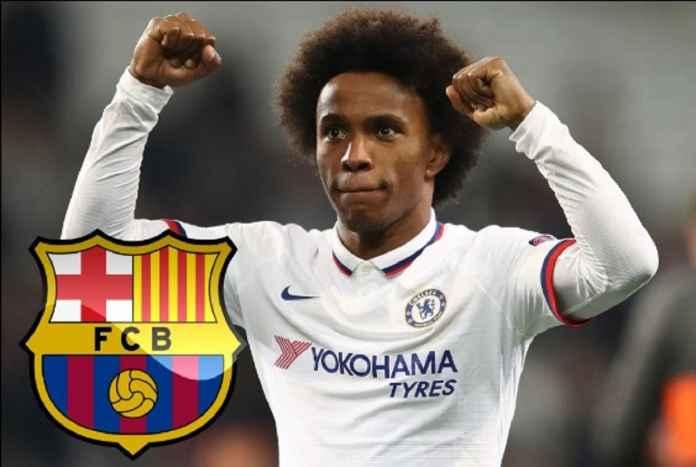 Willian Hentikan Negosiasi Kontrak di Chelsea Demi Barcelona