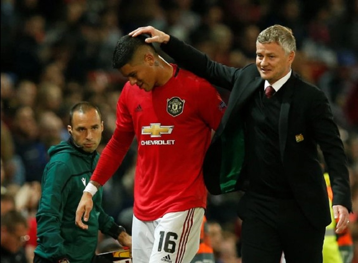 Manchester United Didesak Pertahankan Marcos Rojo Gilabola