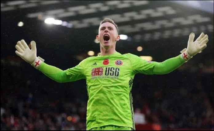 Manchester United Girang Sheffield Tak Mainkan Kiper yang Lebih Bagus dari De Gea