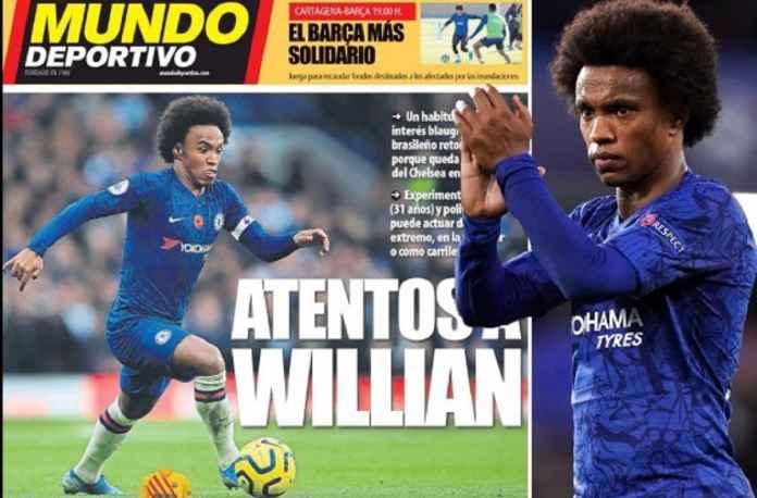 Barcelona Kembali Dekati Willian