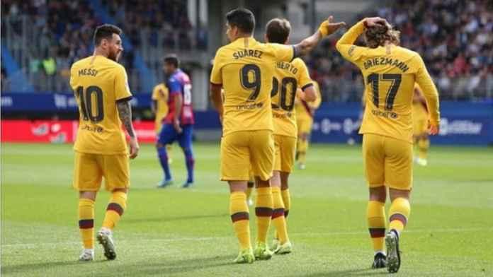 Ernesto Valverde Ubah Formasi Barcelona 4-2-3-1