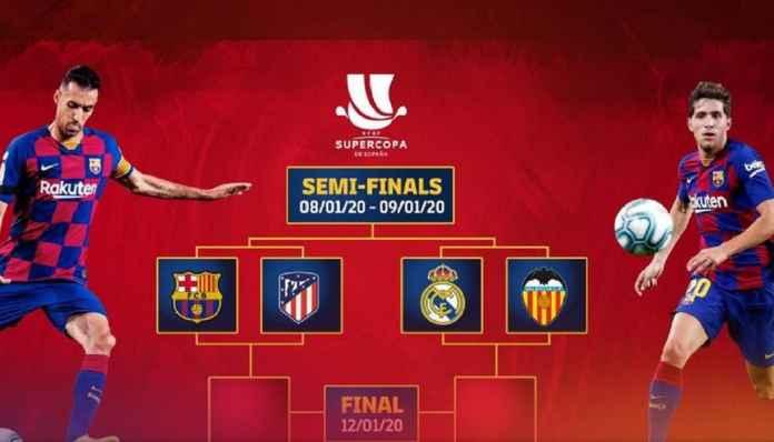 Barcelona Bertemu Atletico di Semi-final Piala Super Spanyol