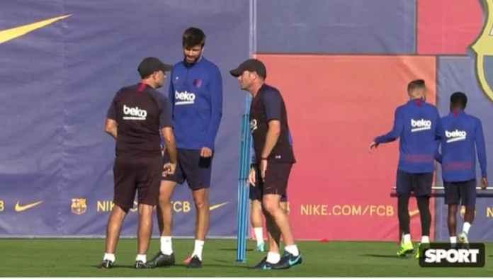 Ernesto Valverde Ancam Sisihkan Gerard Pique Jika Tak Bisa Fokus