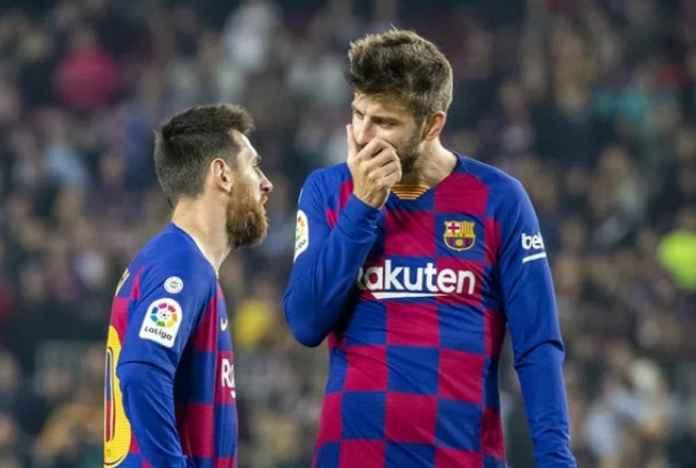 Lionel Messi dan Gerard Pique Berseberangan Soal Pelatih Barcelona