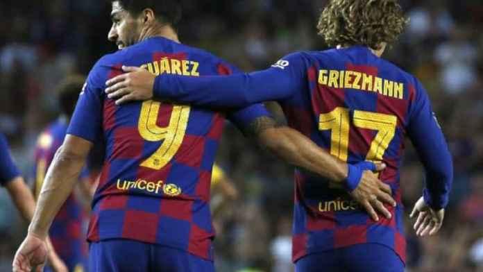 Pelatih Barcelona Ragukan Pengganti Luis Suarez