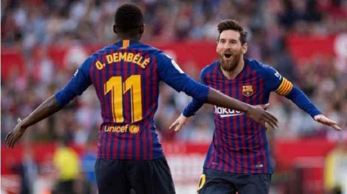 Barcelona Diminta Messi Beri Kesempatan Kedua pada Dembele