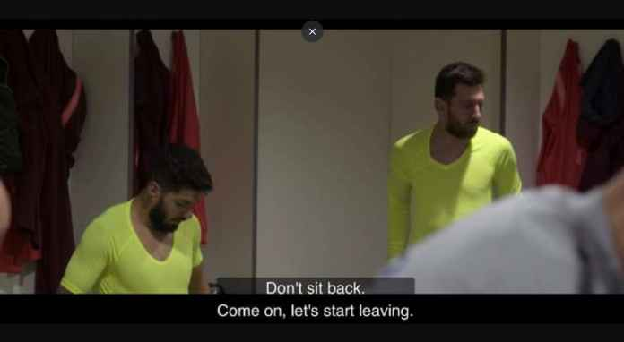 Lionel Messi saat Barcelona kalah 4-0 dari Liverpool di Liga Champions