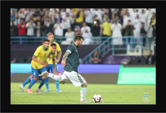 Argentina Kandaskan Brasil 1-0 Berkat Gol Lionel Messi