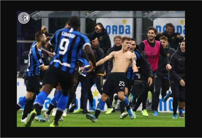 Nicolo Barella Cetak Gol Hebat Untuk Inter, Kartu Kuning Sesudahnya