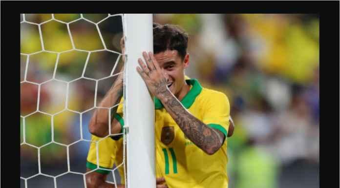 Brasil 3-0 Korea Selatan, Gol Coutinho Bikin Barcelona Menyesal