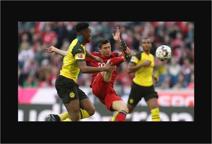 Bayern Munchen Bantai Dortmund 4-0, Lewandowski Sendirian 16 Gol