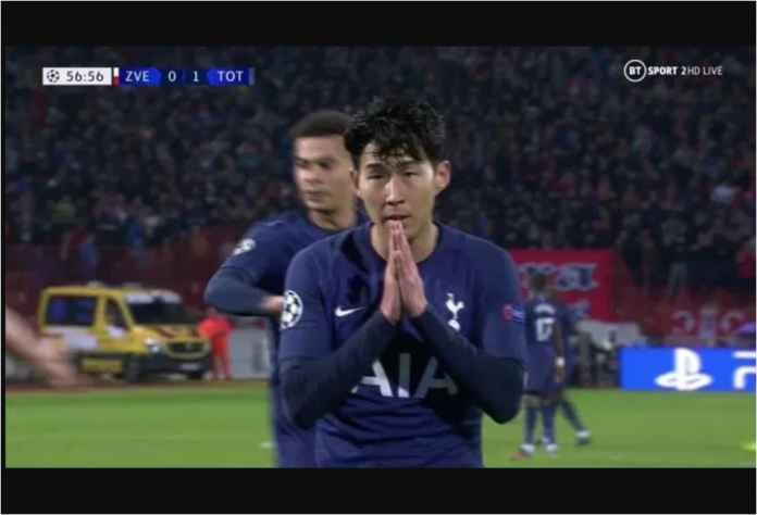 Demi Andre Gomes, Son Heung-min Tolak Rayakan Golnya Tadi Malam