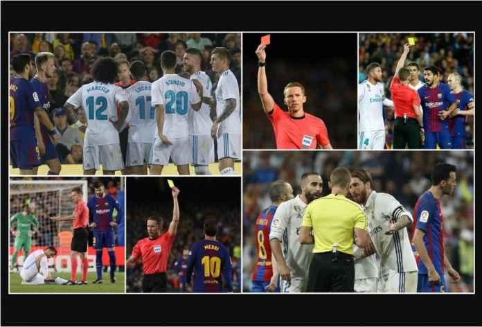 Berani Usir Kapten Real Madrid Dua Kali, Wasit Ini Pimpin El Clasico Lagi