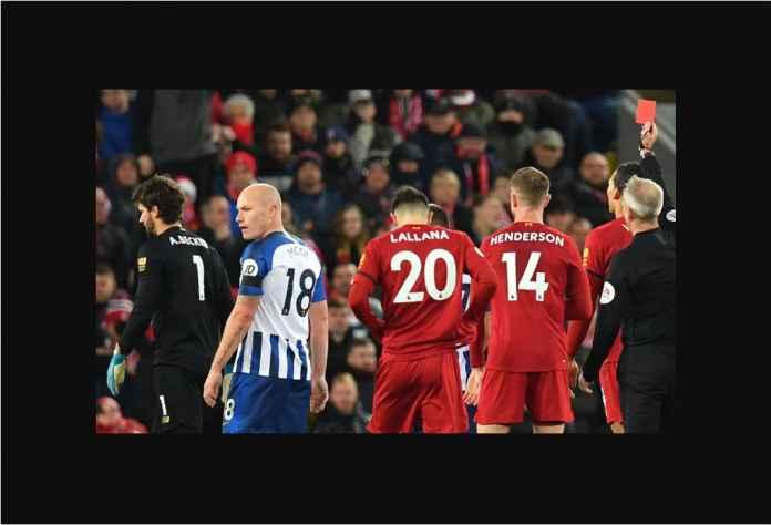 Liverpool Samai Rekor 31 Tahun Meski Kiper Alisson Kartu Merah