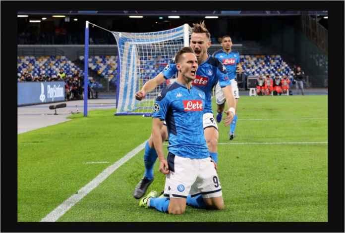 Napoli Lolos dengan Tiga Gol Milik Arkadiusz Milik