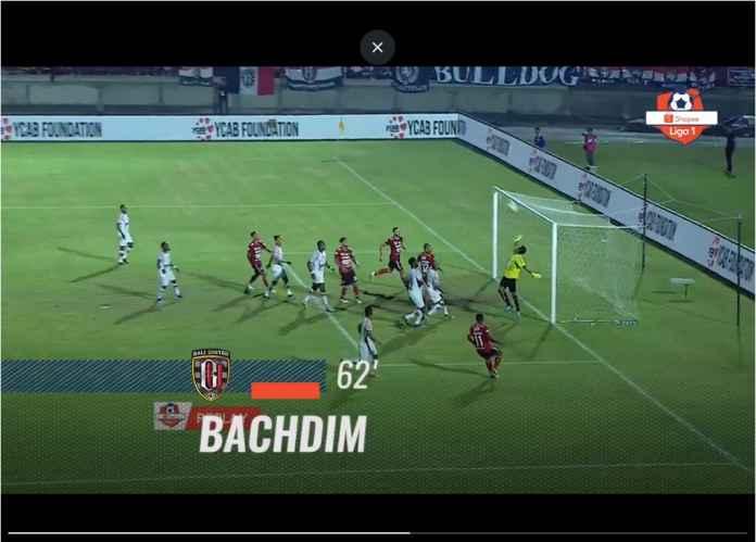 Bali United Selamat dari Kekalahan Berkat Gol Aneh Irfan Bachdim