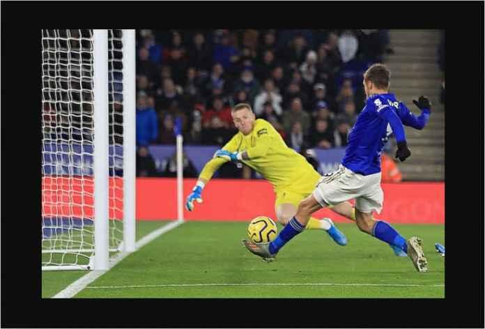 Leicester Menang 2-1, Jamie Vardy Top Skor 13 Gol!