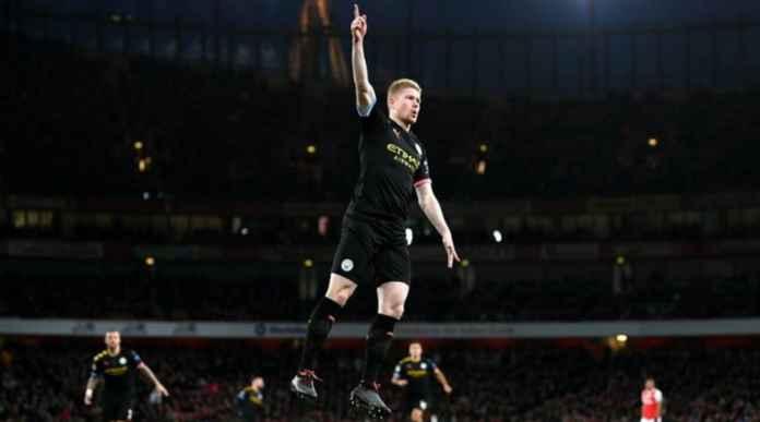 Hasil Arsenal vs Manchester City di Liga Inggris - Kevin de Bruyne