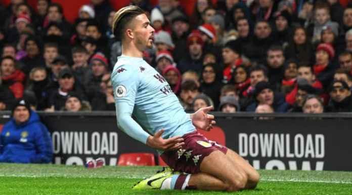 Manchester United vs Aston Villa menghasilkan di Liga Premier