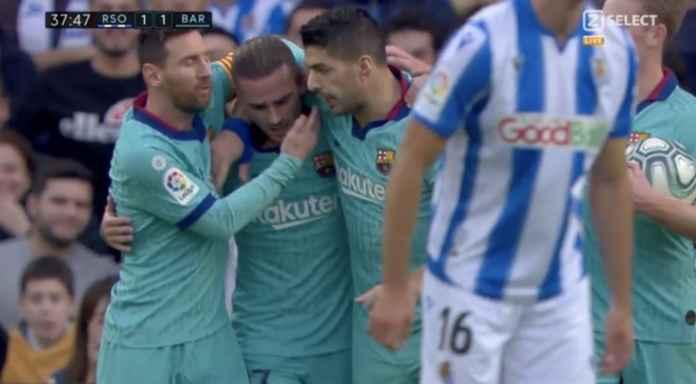 Hasil Pertandingan Real Sociedad vs Barcelona di Liga Spanyol