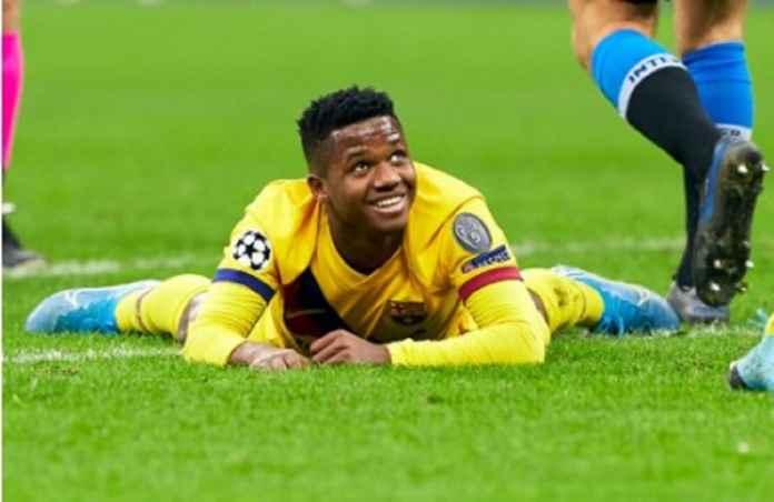 Ansu Fati Berhasil Wujudkan Mimpinya bersama Barcelona