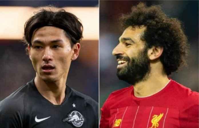 Mohamed Salah Bakal Digantikan Minamino di Liverpool